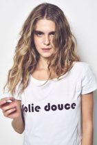 "T-shirt ""Folie douce"", 50€ @modetrotter.com"