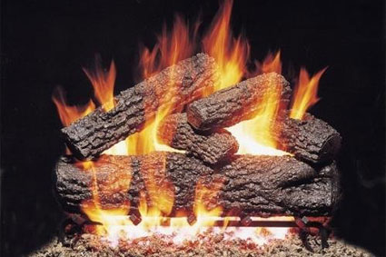 Gas Burning Logs Vs Wood Logs For Your Fireplace