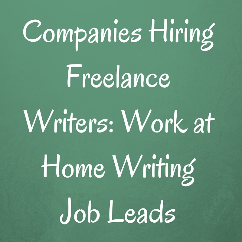 essay writers wanted companies hiring lance writers work at home
