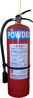 6Kg Dry Powder Powder Fire Extinguisher