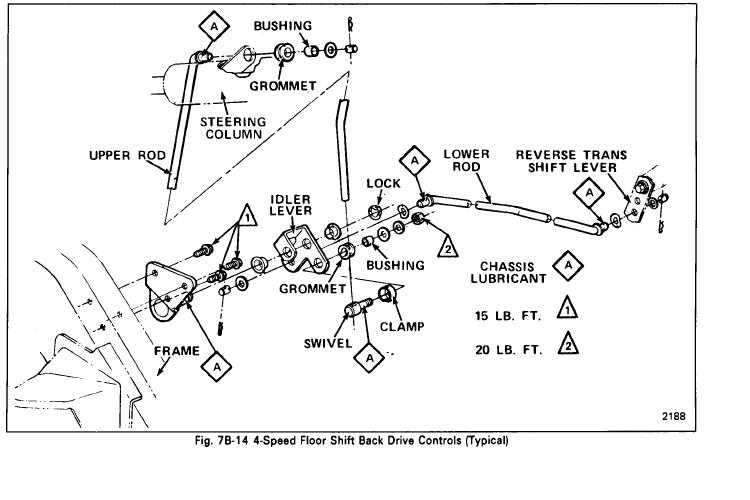 1968 Ford Steering Column Wiring Diagram  1968 Chevy