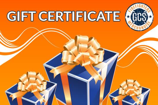 Gift Certificate - GCS Firefighters Merchandise