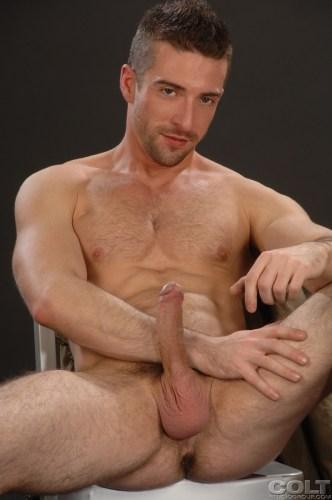 Scott-Hunter-Uniform-Men-firefighter-jockstrap-gay-porn-star-COLT-studio-group-with-Bob-Hager-hairy-masculine-hot-passionate-sex-7