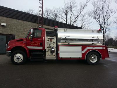 Trucks Fire Fighting In Canada