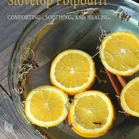 Cold and Flu Fighting Stovetop Potpourri