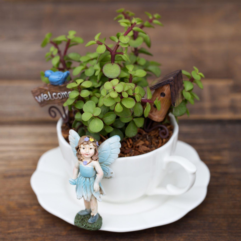 Supreme Fairies Inside Your Home Bring Magic Uk A Miniature Teacup How To Make A Teacup Fairy Garden Fairy Garden Design Fairy Gardens garden The Fairy Gardens