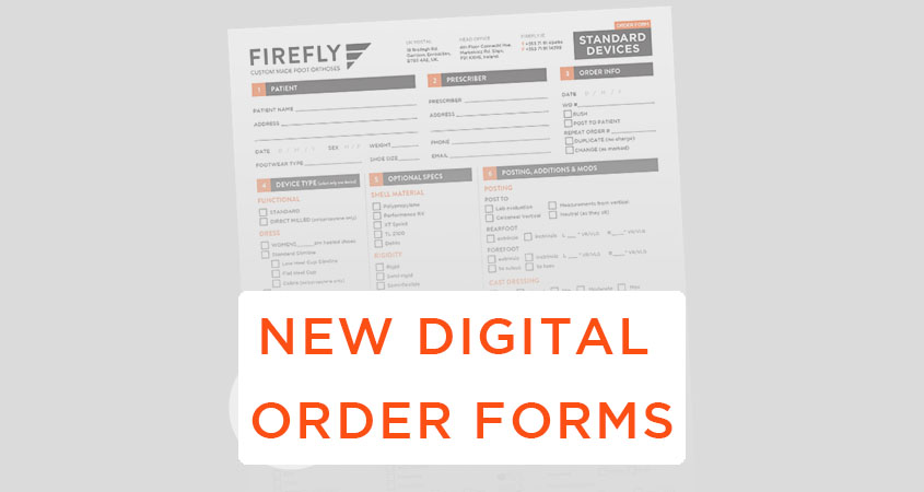 New Firefly Order Forms