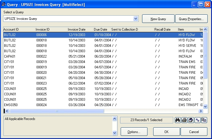 Check for invalid dates in invoice records