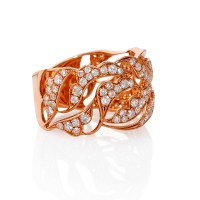 Rose Gold Rings: Antique Rose Gold Rings Size 6