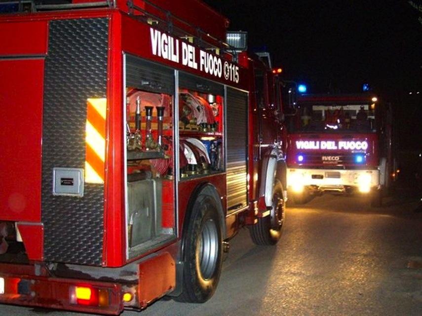 Reggello, incendio in casa in località Tornia quattro ustionati