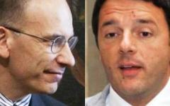 Letta e Renzi, i nuovi big