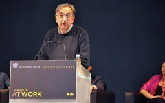 Marchionne a Firenze: serve un piano Marshall per far ripartire il Paese