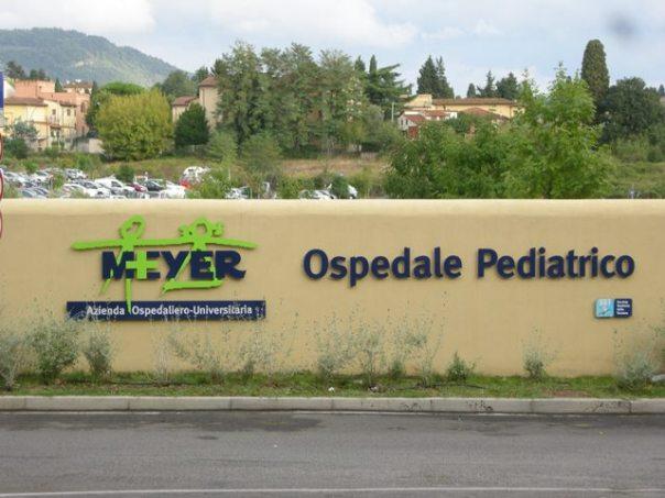 Ospedale pedatrico Meyer dove è ricoverato il nipote del paziente giordano