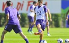 Fiorentina, primo gol di Gomez in allenamento