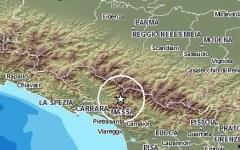 Terremoto, nuova leggera scossa in Lunigiana