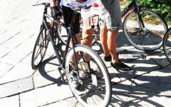 Furti bici: Rossi cerca i turisti tedeschi derubati, «gliele ricompreremo»