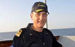 Il comandante di Nave Zeffiro: «Così garantiamo sicurezza alla navigazione»