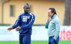 Nazionale, Balotelli partecipa alla partitella e segna