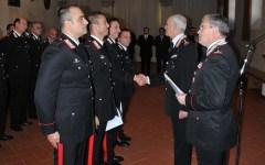 Encomio a 14 carabinieri della Toscana