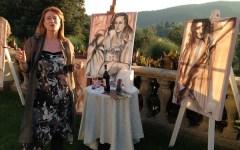 La pittrice Rogai fa il bis al Forte di Belvedere