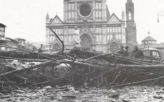 Firenze ricorda l'alluvione del 1966 (FOTO)