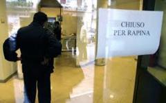 Firenze: raddoppiano le rapine in banca, vertice in Prefettura