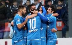 Empoli, grande impresa (1-2) a Pescara in dieci uomini