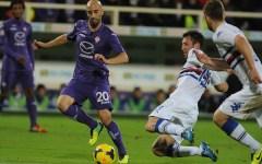 Borja Valero in azione
