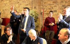 Natale, Renzi a pranzo con gli anziani di Montedomini