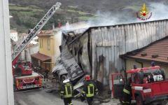 Maremma, incendio distrugge caseificio