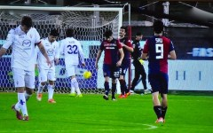 Fiorentina, brutta sconfitta a Cagliari: 1-0