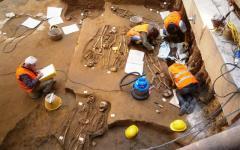 Uffizi, scoperta una necropoli di 1500 anni fa