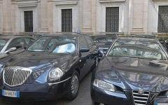 Auto blu: sono 40mila in meno. Ma restano ancora quelle di regioni, province e comuni