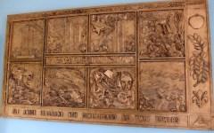 Firenze: 11 settembre. In ricordo delle Torri Gemelle donato un bassorilievo alla Questura