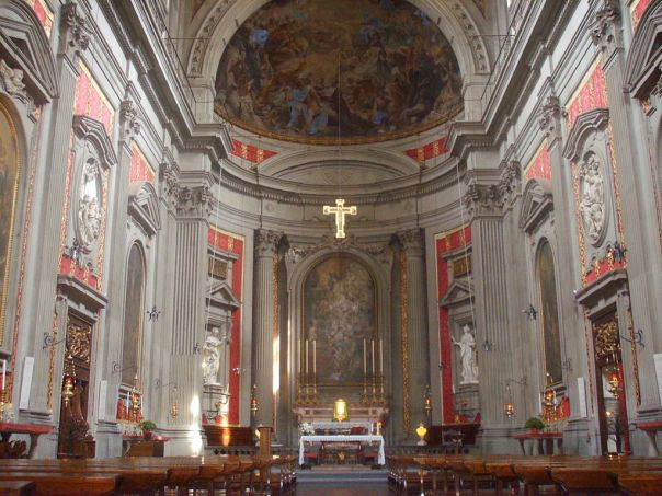 La Chiesa di San Filippo Neri nel complesso di San Firenze