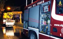 Sesto Fiorentino: a fuoco un appartamento, due feriti