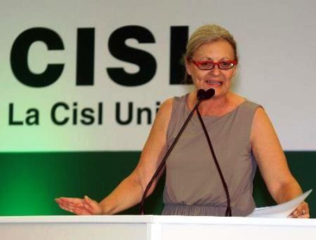 Annamaria Furlan, segretaria Cisl