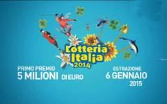 Lotteria Italia: tutti i biglietti vincenti. 5 milioni a Roma. I premi di consolazione in Toscana