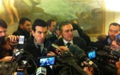 Maltempo in Toscana, il ministro Martina s'impegna con Rossi: «Aiuteremo le aziende anche con interventi fiscali»