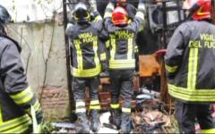 Pistoia, incendio in centro storico: palazzo evacuato