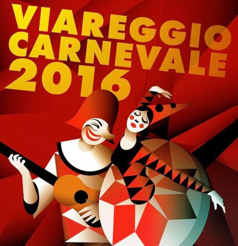 Viareggio, il manifesto del Carnevale 2016