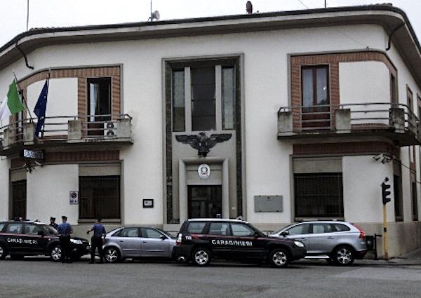 La caserma dei Carabinieri a Borgo san Lorenzo