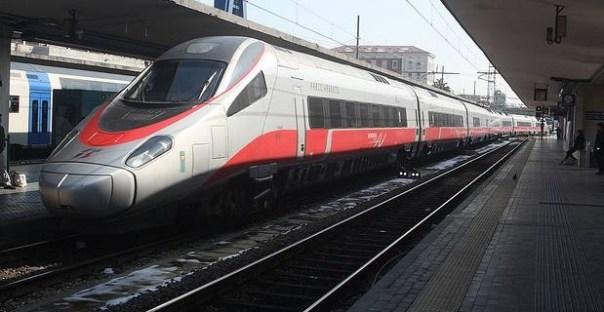 Il treno Frecciargento