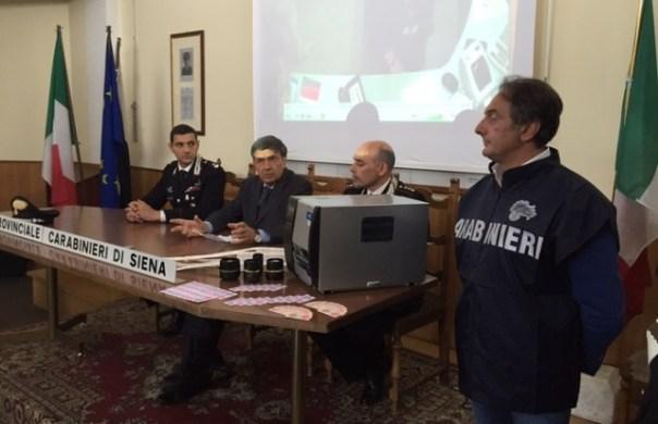Biglietti falsi dei bus a Siena