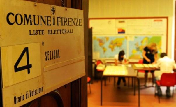 Elezioni, urne aperte in Toscana