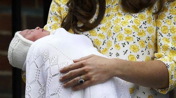 La royal baby girl Charlotte Elizabeth Diana