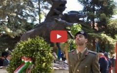 Esercito: il monumento ai «Lupi di Toscana» torna in caserma (Video)