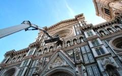 Firenze, festa di San Giovanni: esposta in Battistero la vetrata del rosone del Duomo