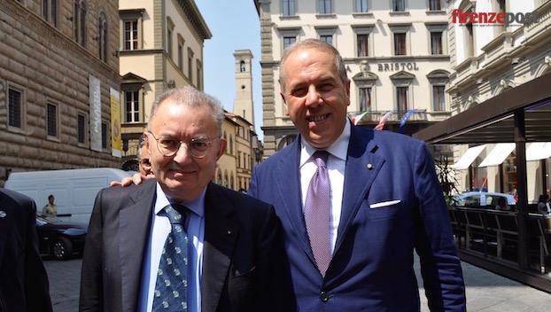 Giorgio Squinzi e Simone Bettini