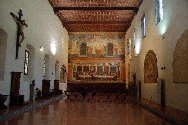 Il Cenacolo di Sant'Apollonia con L'ultima cena di Andrea del Castagno